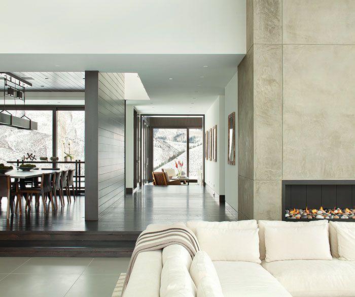 129 best living rooms images on pinterest bond cherry for Aspen interior design firms