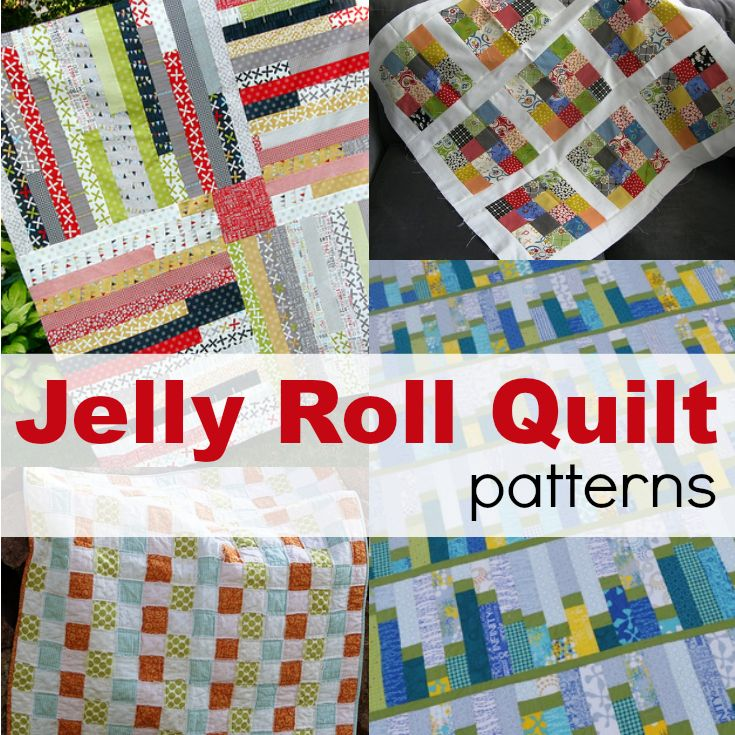 Jelly Roll Quilt Ideas BY THE SEWING LOFT Jelly roll quilts are easy to make and stitch together in a flash. Here are a few of my favorite free patterns to help you stitch up a storm.