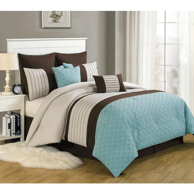 15 Best Images About Comforter Sets On Pinterest Parks Taupe And Chevron Sheets