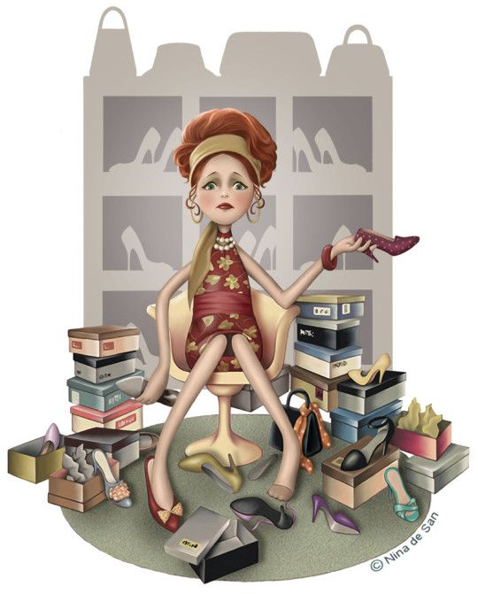 Nina de San illustrations