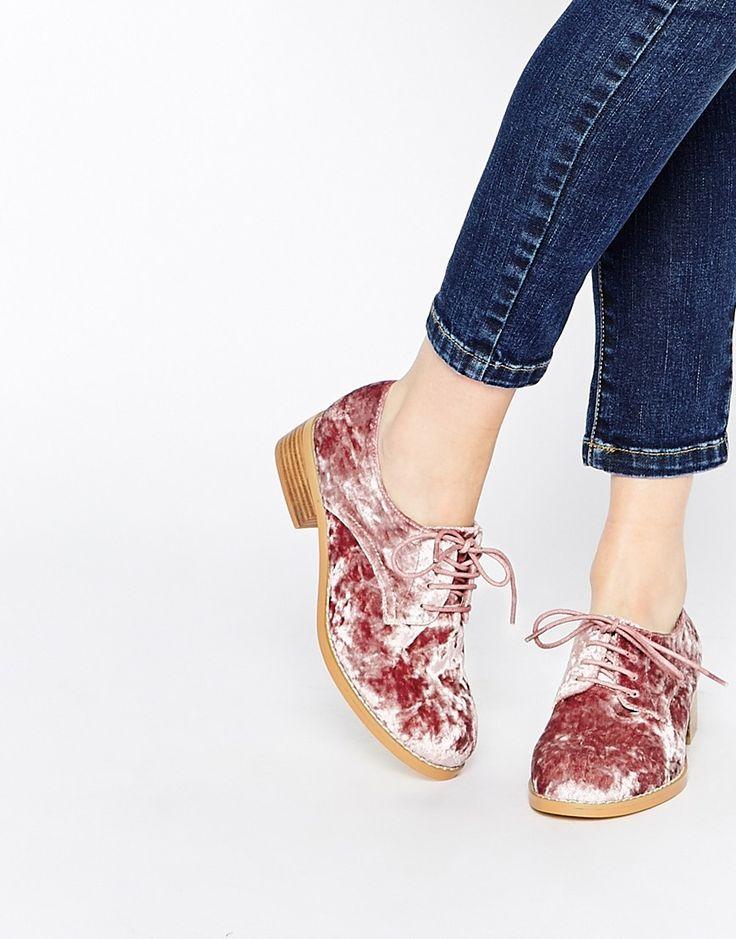 Image 1 - ASOS - MAGIC - Chaussures Richelieu en velours