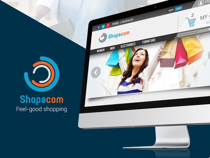 """Check out this @Behance project: """"Shopacom""""…"""