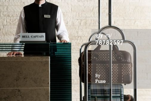 Royalty-free Image: Hotel Reception Desk