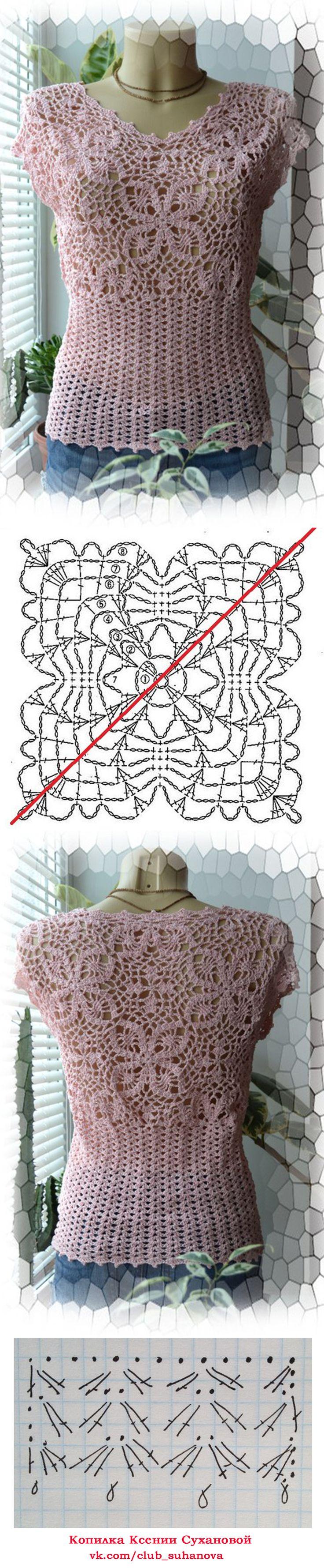 495 best Crochet Patterns & Diagrams images on Pinterest | Crochet ...