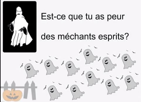C'est L'Halloween, great song for Halloween vocab and just for fun.
