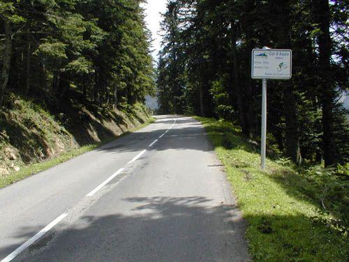 Col d'Aspin (Pyrénées) - 1489m - 12km à 6,7% ( 9,5% maxi) - Dénivelé 779m
