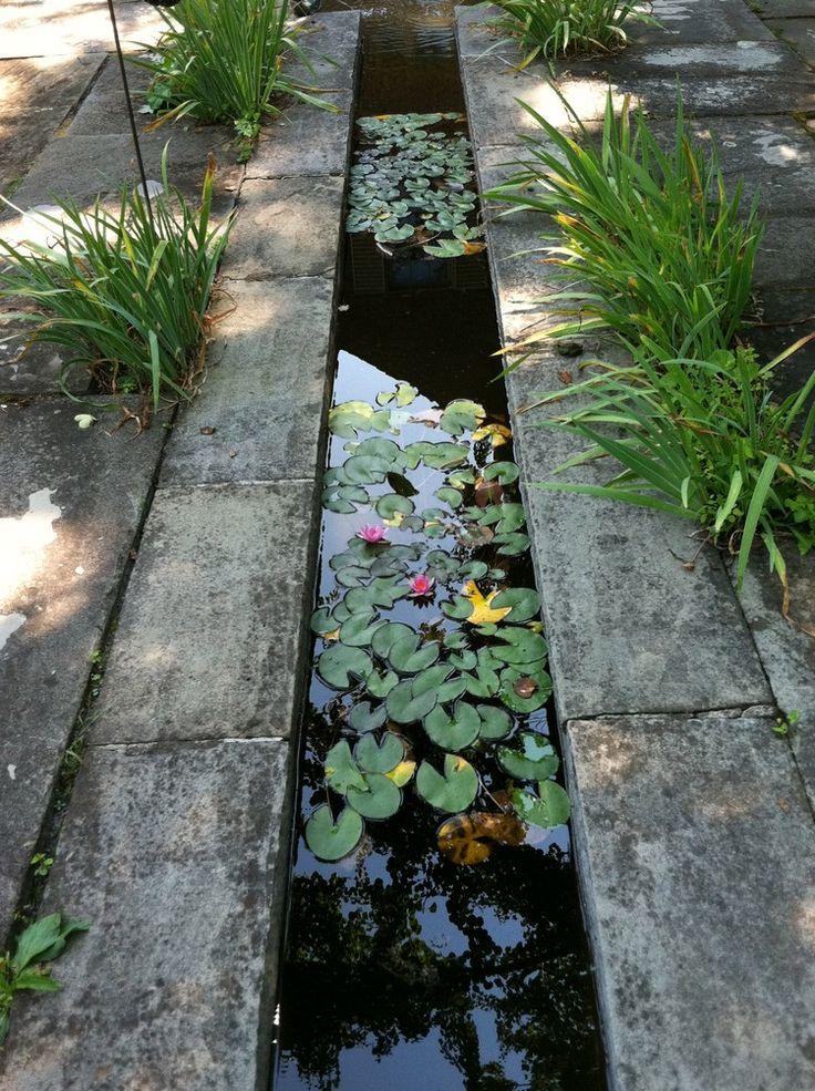 Wasser im Garten – 20 Ideen für Gartengestaltung mit Bachlauf