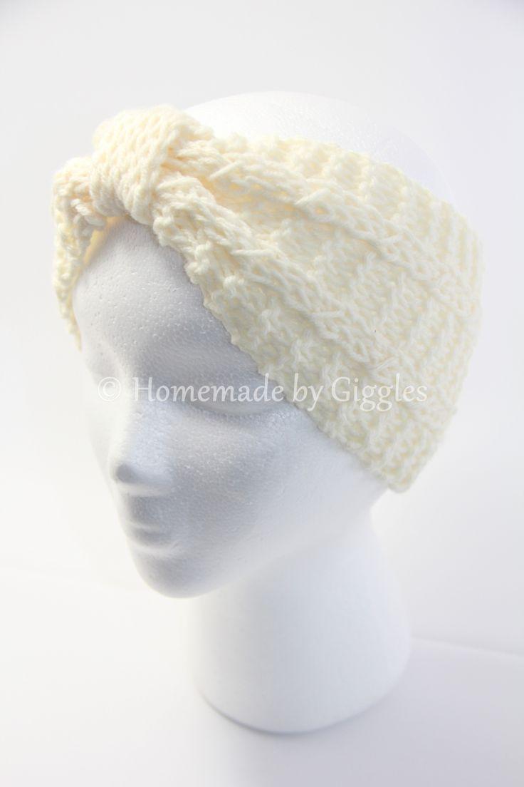 Mejores 17 imágenes de Knit Headbands en Pinterest | Gorros ...