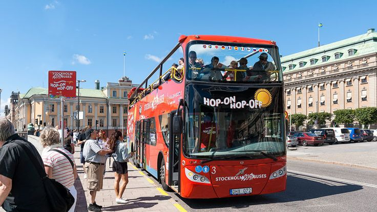 Hop On Hop Off Bus Стокгольм | Redsightseeing.com