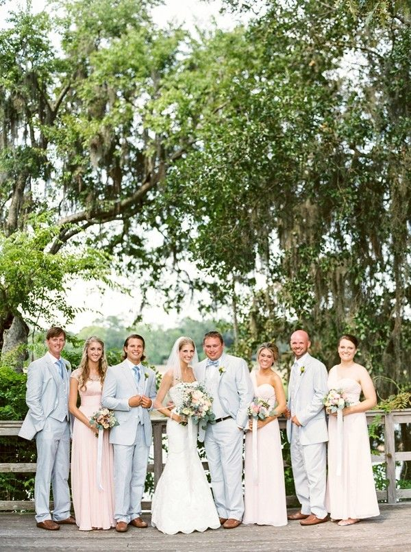 Classic Magnolia Plantation Wedding | http://classicbrideblog.com/2015/10/classic-magnolia-plantation-wedding.html/ | wedding coordination and floral design by Kala of MOD Events | Image by JoPhoto