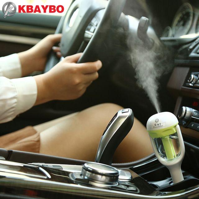 Автомобиль Аромат Диффузор Увлажнитель-Портативный Мини-Автомобиля Ароматерапия Увлажнитель Воздуха Очиститель Диффузор эфирное масло диффузор