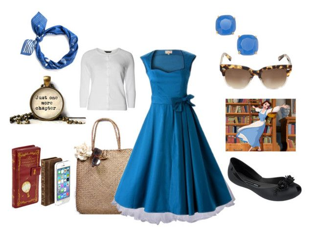 """Belle dapper day"" by misstiffiniemae on Polyvore"