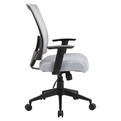 Mesh Back Task Chair - Boss Office Products, Grey
