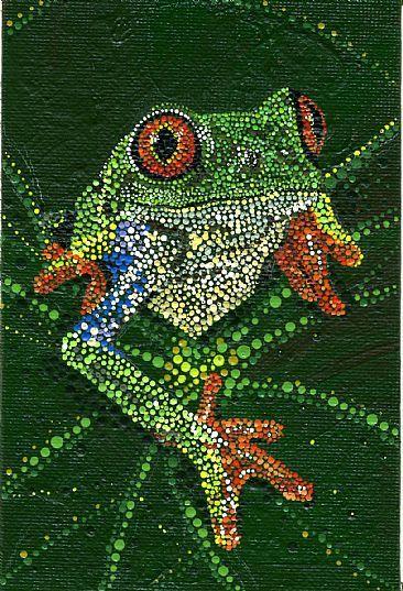 rachel dillon afc rachel dillon acrylic dot paintings of animals endangered