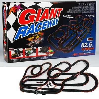 MegaHobby.com - Giant Raceway Race Car Set HO Scale AFX, $354.59 (https://www.megahobby.com/products/giant-raceway-race-car-set-ho-scale-afx.html)