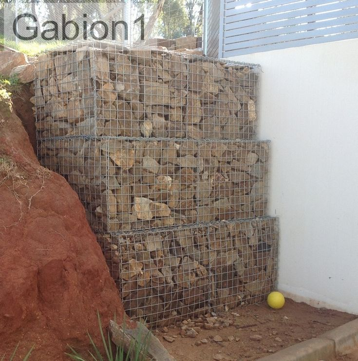 unbelievable curved gabion wall. gabion retaining wall 104 best Landscaping Gabion images on Pinterest
