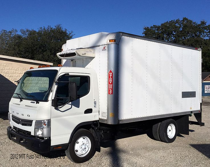 2012 mitsubishi fuso 14ft reefer truck tampa fl used trucks for sale pinterest truck boxes. Black Bedroom Furniture Sets. Home Design Ideas