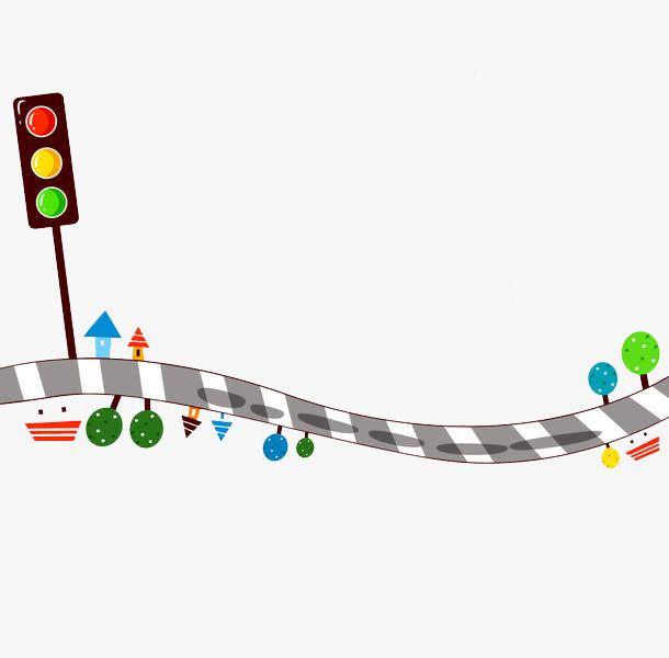 إشارة المرور Hijab Cartoon Traffic Light Art