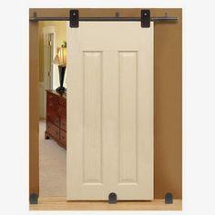 Custom Service Hardware Top Mounted Short Bracket Complete Sliding Door Kit  From Vandykes.