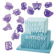 40 pcs Alphabet numéros moule Cookie Cutter set, Cuisson Fondant Biscuit Cutter mold, Plastique gâteau lettres et le numéro outil de coupe(China (Mainland))