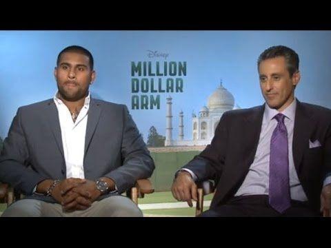 Million Dollar Arm Interview - JB Bernstein & Rinku Singh - Disney India...