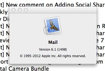Mac OS X Mountain Lion Removed RSS Feeds from Mail 6.1 How to get them back.
