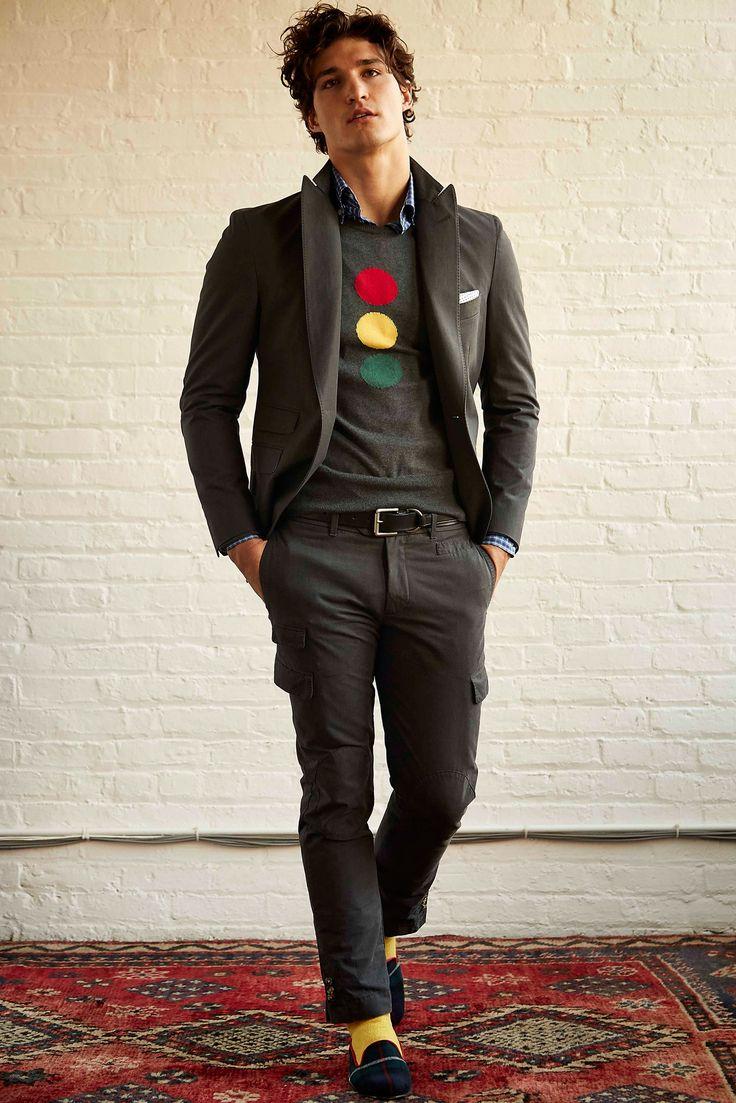 Michael Bastian - Fall 2015 Menswear