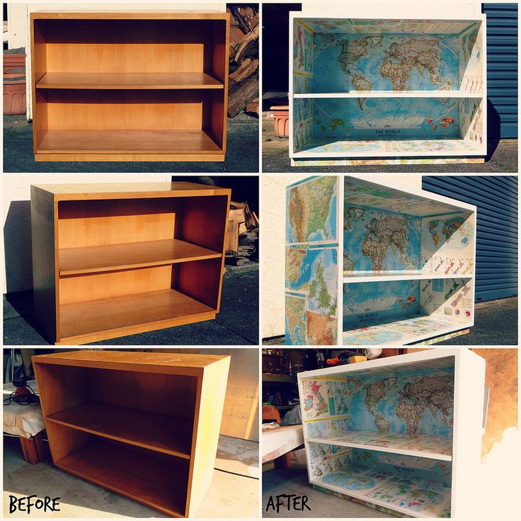 Atlas bookcase