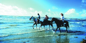 Mustang Island State Park © Texas Tourism.