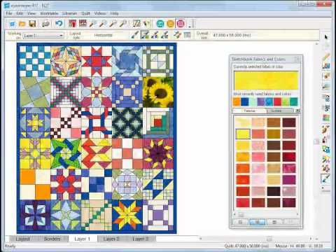 33 best EQ How-To Videos images on Pinterest | Projects, Software ... : eq7 quilting software - Adamdwight.com