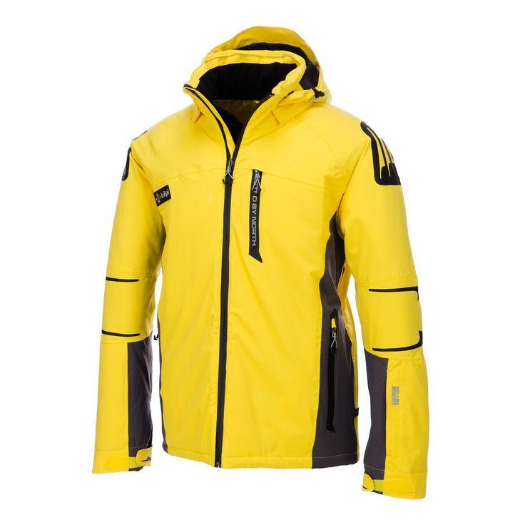 Kilpi, Carpo, ski jack, heren, geel