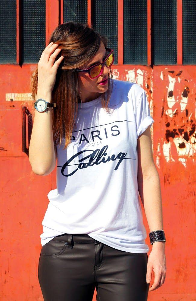 #pariscalling #tshirt #whitetee #tee #fashionblogger #italianfashionblogger