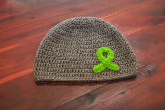 Non-Hodgkin Lymphoma Awareness Ribbon hat