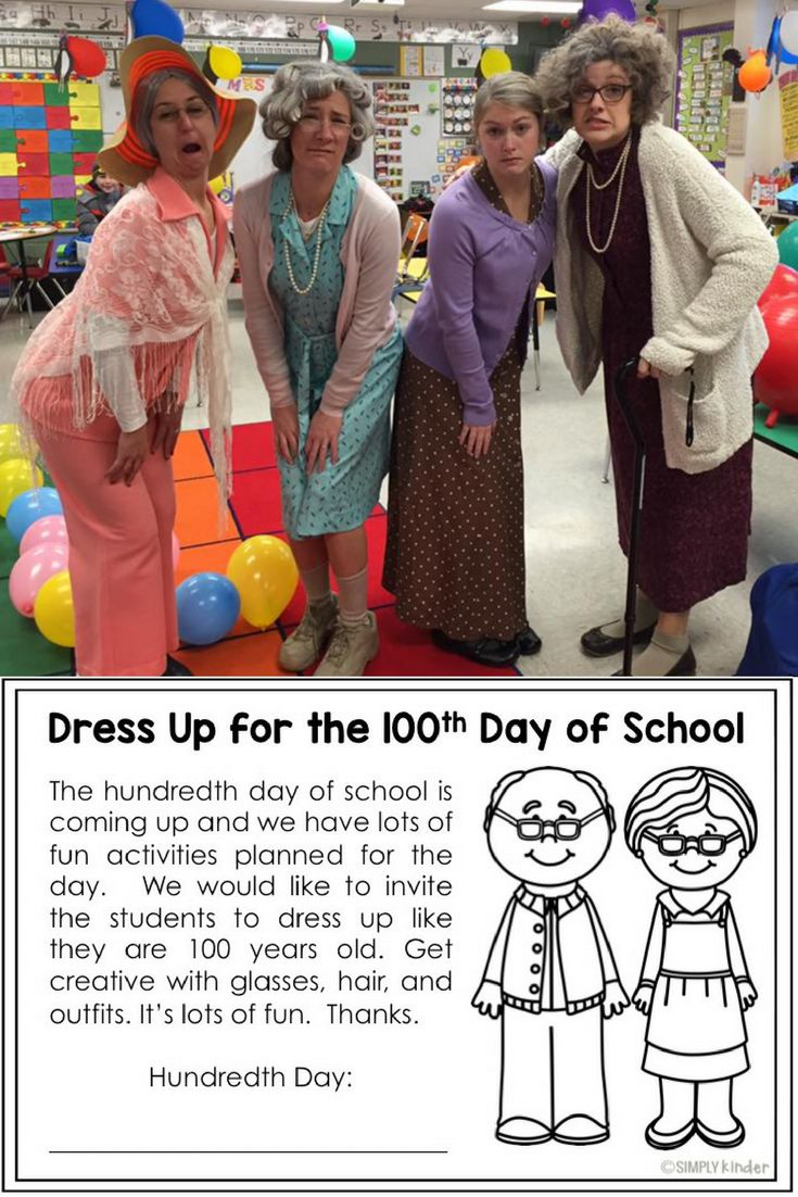 Dress up example sentence - Dress Up For The 100th Day