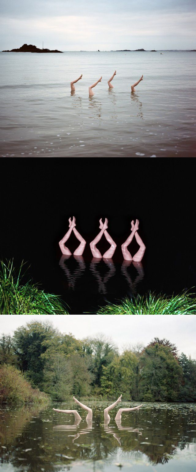 Jean-Baptiste Courtier Synchronized Swimming Photography