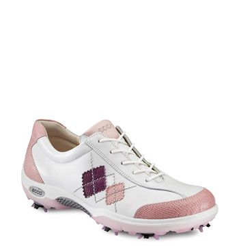ECCO Casual Pitch Argyle Golf Shoe (Women) | Nordstrom