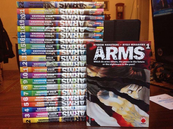 ARMS - 1/22 - Planet Manga - COMPLETA
