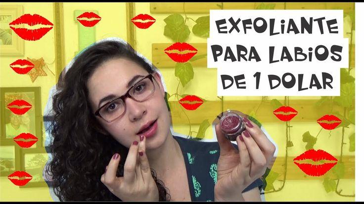 PROBANDO EXFOLIANTE PARA LABIOS DE 1 DOLAR, Easywithlu
