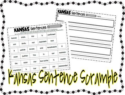 Made for 1st Grade: Kansas Activities