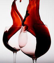 Illustration vin rouge