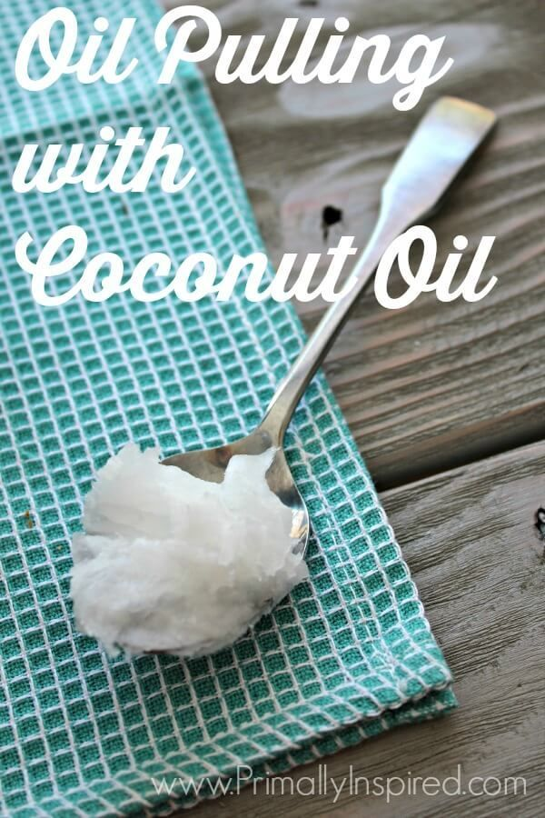 Oil Pulling with Coconut Oilnazish khan