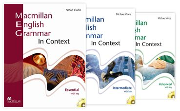 كاملة ثلاثة أجزاء Macmillan English Grammar in Context