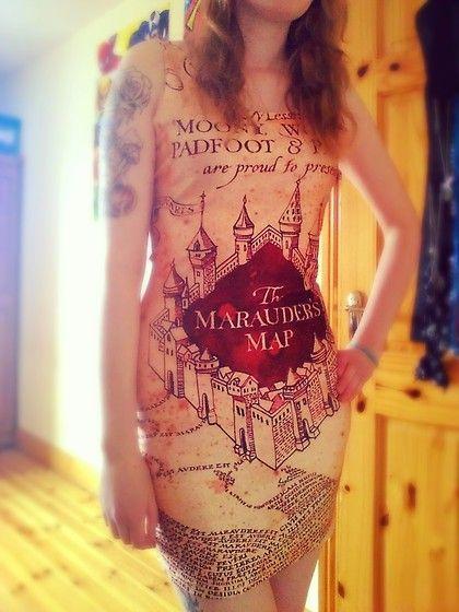 Dresslink Marauder's Map Dress