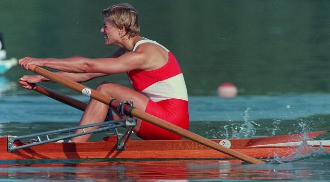 """Silken Laumann is a champion rower and received the gold medal in the 1987 Pan Am Games (Single Sculls). She was also the World Champion in Single Sculls Rowing in 1991. In 1997, she received the Wilma Rudolph Courage Award (she is the first non-American to receive the award). In 2004 she was inducted into BC Sports Hall of Fame. The CAAWS (Canadian Association for Advancement of Women and Sport) named her the """"Most Influential Women in Sport and Physical Activity"""" in 2007."""