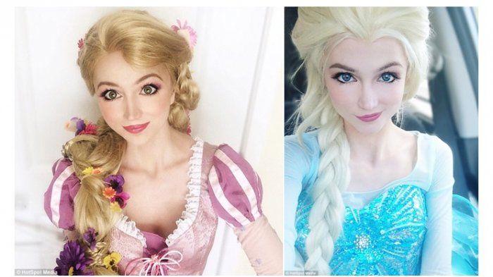 Gadis Ini Habiskan Ratusan Juta Tanpa Oplas, Demi Tampak Bak Putri Disney Untuk Tujuan Mengagumkan