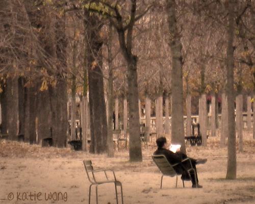 urban solitude in Paris