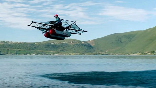 Kitty Hawk's electric Flyer takes to the air in slick promo video  Silicon Valley startup Kitty Hawk  backed by Google's Larry Page who also threw his weight behind a rotor-based flying car a few years back  has released a video showing off the prototype of an upcoming all-electric personal flying machine it's calling The Flyer. The company says that users won't need to secure a pilot's license to fly the eight rotor vehicle and promises a swift learning curve.  .. Continue Reading Kitty…