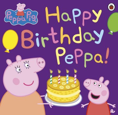 I'm shopping Peppa Pig Book: Happy Birthday Peppa! in the Mothercare iPhone app.