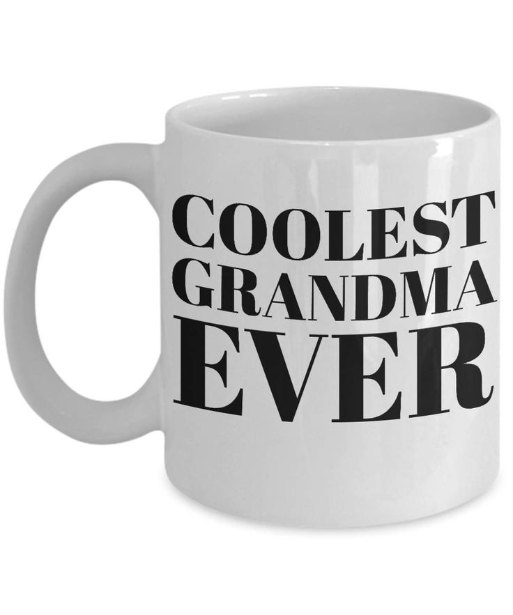 Excited to share the latest addition to my #etsy shop: Coolest Grandma Mug - 11oz White Ceramic Coffee Cup With Funny Saying, Unusual Gifts For Women - Inspirational Motivational And Sarcasm http://etsy.me/2EmWjyb #housewares #coolestgrandmamug #funnycoffeemug