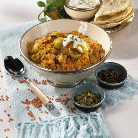 Indisches Linsen-Curry Rezept